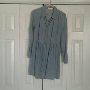 Jean dress size M from anthropologie